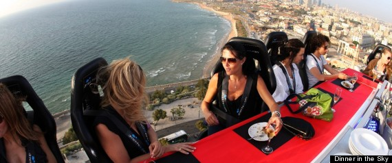 Huffington Post:  'Dinner in the Sky' Come To Delray Beach