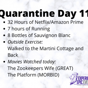 Quarantine Day 11